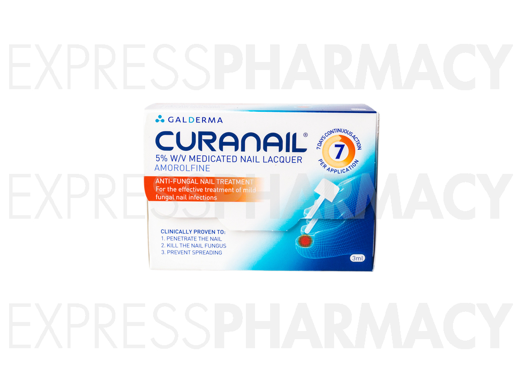 Curanail Loceryl Medicated Nail Lacquer (Amorolfine)   Cheapest ...
